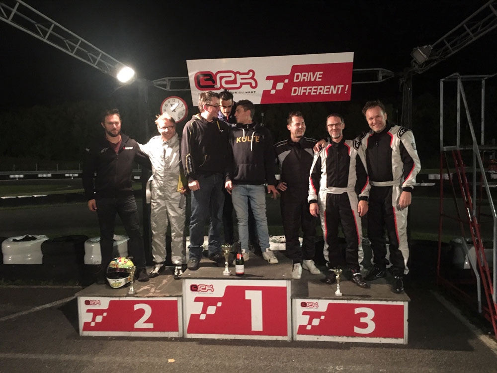 Karting Convergences 2019, le podium